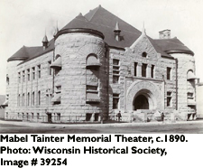 Mabel Tainter Memorial Theater, circa 1890