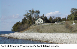 Part of Chester Thordarson's Rock Island estate.