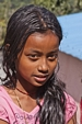 Nepal Girl with Pink Top