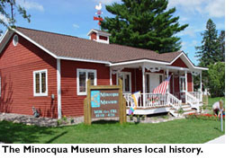 The Minocqua Museum shares local history
